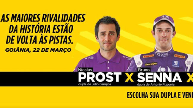Bruno Senna e Nicolas Prost insieme in Stock Car
