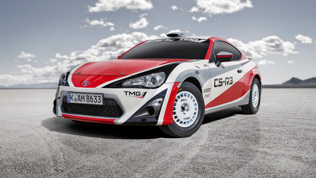 Deliberata la Toyota GT86 CS-R3 per i rally