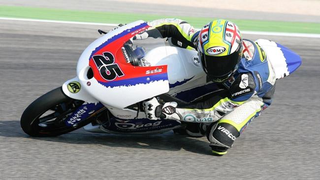 Walter Sulis su una FTR-Honda del Team Pos Corse