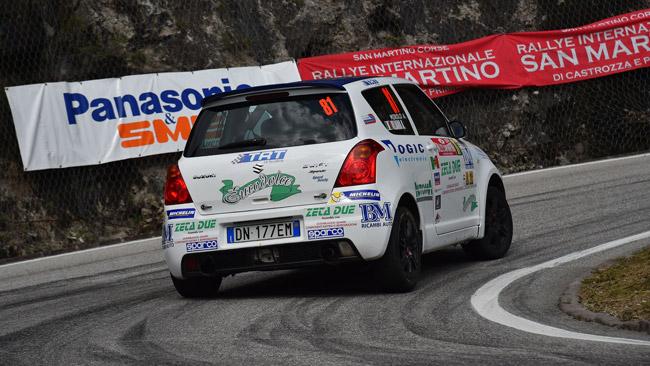 Suzuki Rally Cup: a Como poker d'assi per il titolo