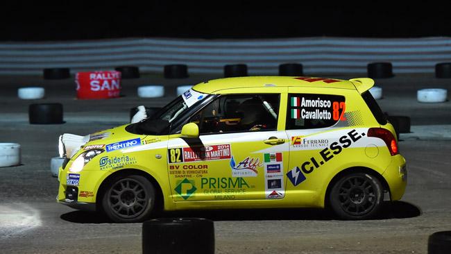 Suzuki Rally Cup: vince Amorisco, ma ride Soliani