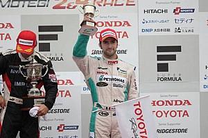 Super Formula Ultime notizie Andrea Caldarelli sul podio in Super Formula al Fuji