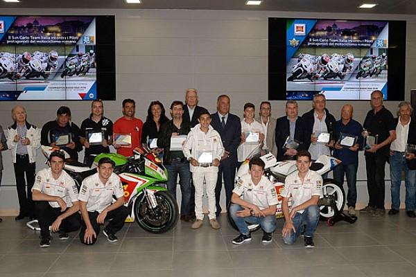 Varie Ultime notizie Il Team Italia omaggia il motociclismo romano