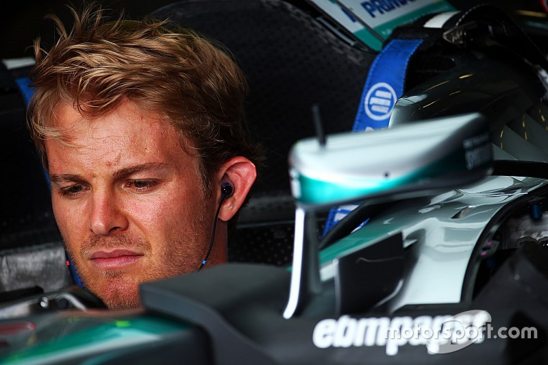 Rosberg dice que él todavía lucha con los frenos