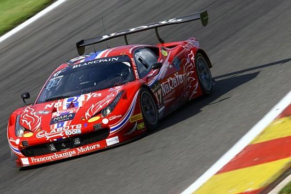 24 Ore di Spa: ancora Ferrari nelle Pre-Qualifiche