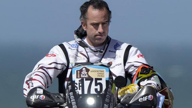Dakar una vittima: in moto muore Martinez Boero