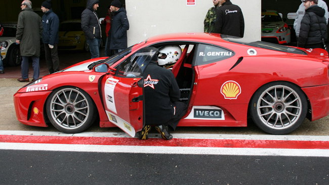 Test a Vallelunga per lo Starteam Racing