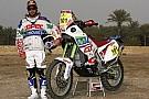 Francisco Lopez guida la squadra Aprilia alla Dakar