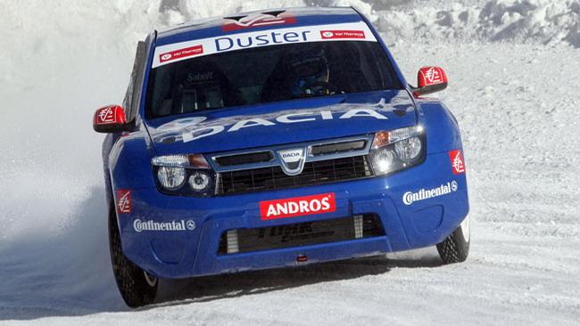 Alain Prost ancora sulla Dacia Duster Ice