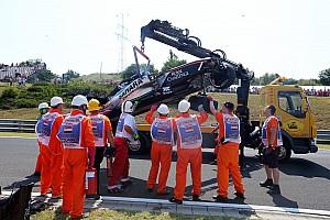 Fórmula 1 Noticias Force India no estará en la segunda práctica tras el accidente de Pérez