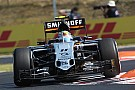 Confiance chez Force India pour renforcer la suspension