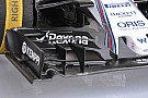 Williams: nuova ala anteriore in stile Mercedes
