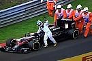 Budapest, Q2: problemi per Alonso e bandiera rossa