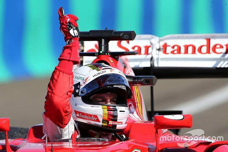 Sebastian Vettel: This is for you Jules