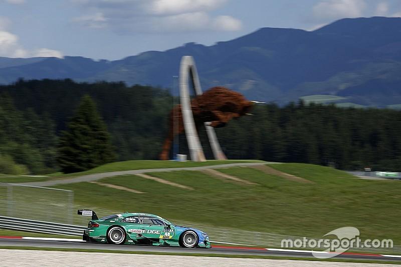Spielberg DTM: Mortara bags race one pole