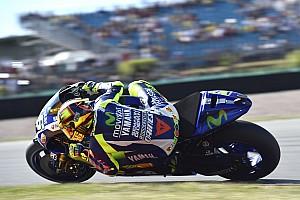MotoGP Résumé d'essais libres Un vendredi à oublier pour Valentino Rossi