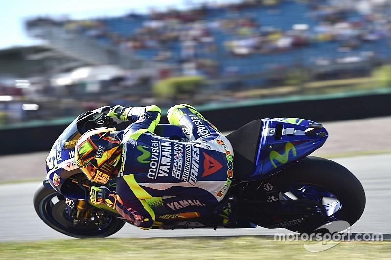 Un vendredi à oublier pour Valentino Rossi