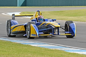 Formula E Testing report Buemi fastest on opening day of pre-season testing