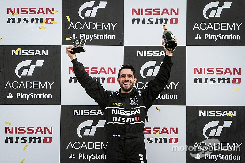 Australian wins dream GT Academy prize