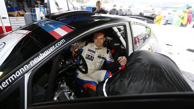 Neubauer al Barum Rally con la Fiesta S2000