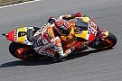 """""""Confortável"""" ao seguir Rossi em volta rápida, Márquez crê que está na briga"""