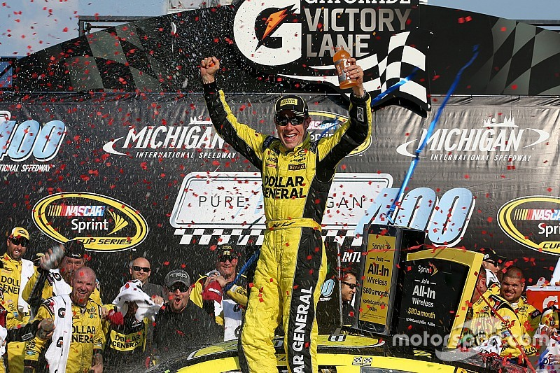 Matt Kenseth conquista Michigan