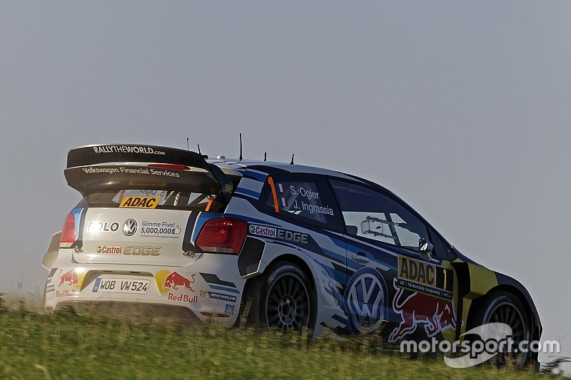 Germania, PS11: Ogier precede le Hyundai i20