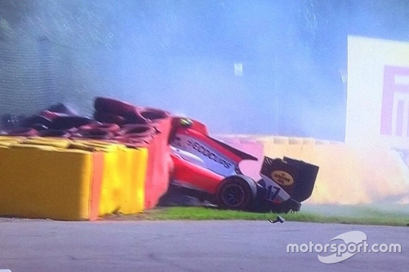 Grave acidente com holandês interrompe corrida 1 da GP2 em Spa