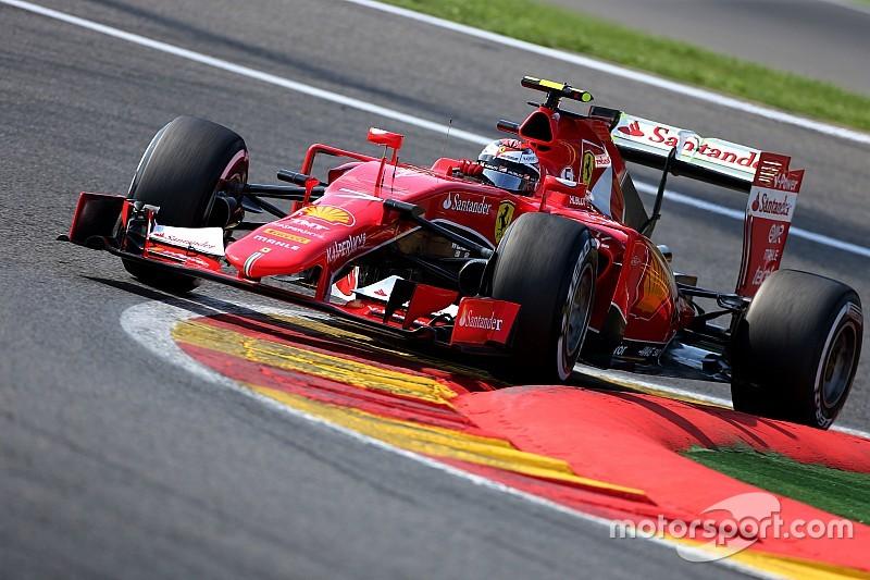 Райкконен потеряет две позиции на старте Гран При Бельгии