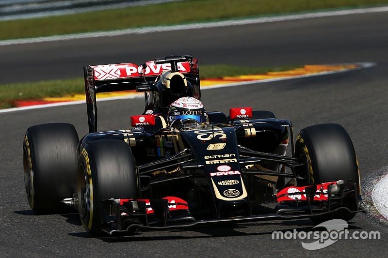 """Romain Grosjean - """"C'est comme une victoire pour Lotus!"""""""