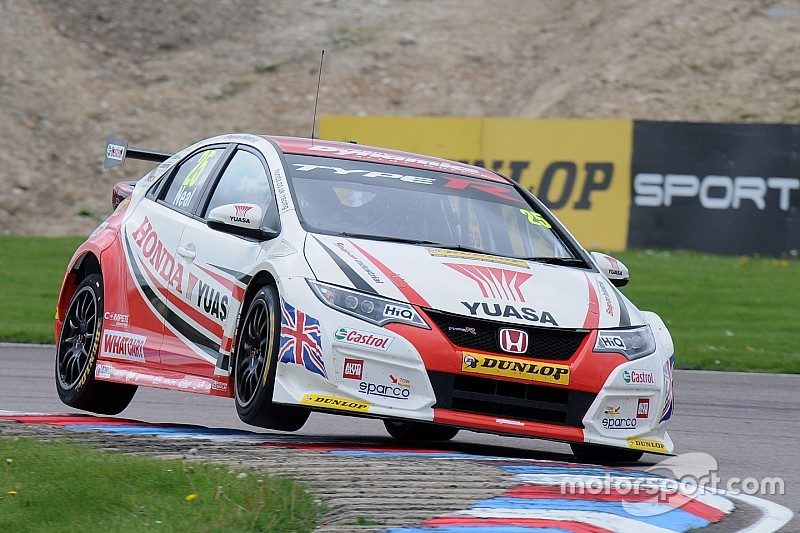 Knockhill BTCC: Neal grabs final win from Morgan