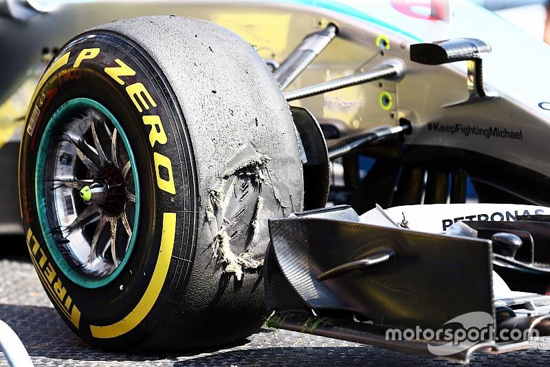Rosberg: Pirelli risked 'biggest shunts ever'