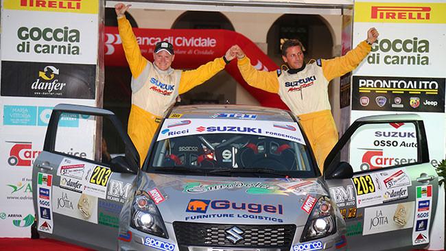 Suzuki Rally Trophy: Alessandro Uliana vince in Friuli