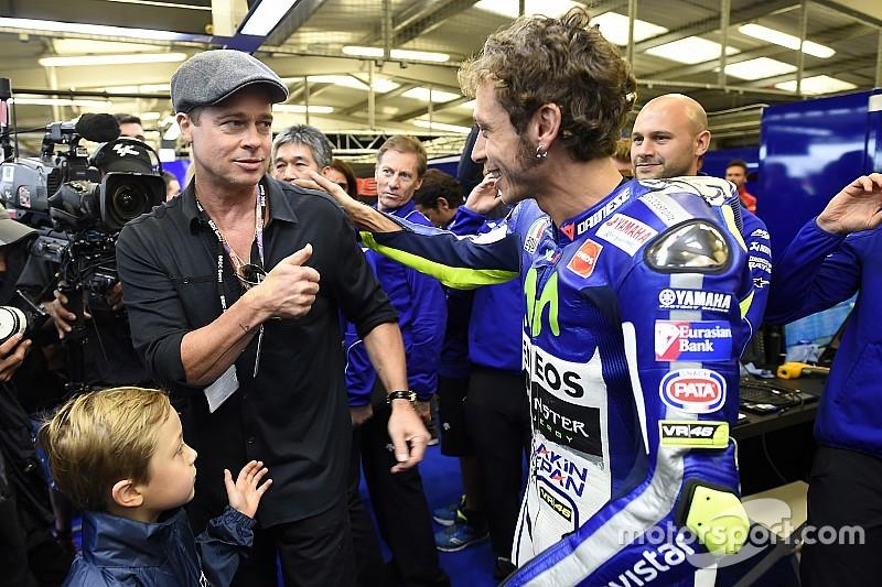 """Brad Pitt grand fan de MotoGP - """"C'est phénoménal"""""""