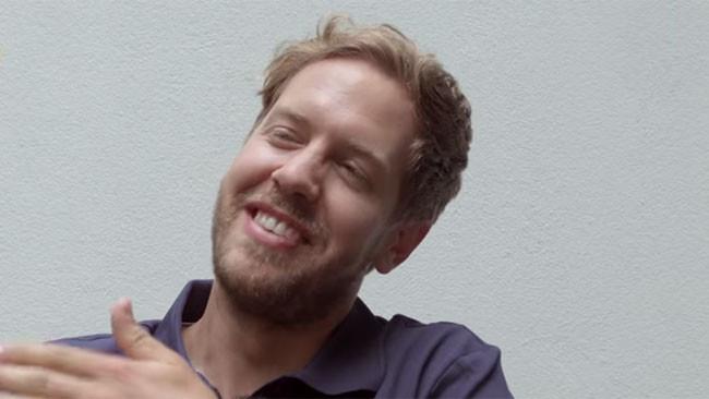Vettel si racconta in modo divertente a Tirendo