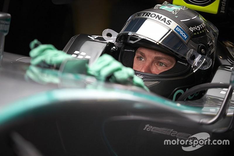 """Rosberg se plaint d'un """"très très vieux moteur"""""""