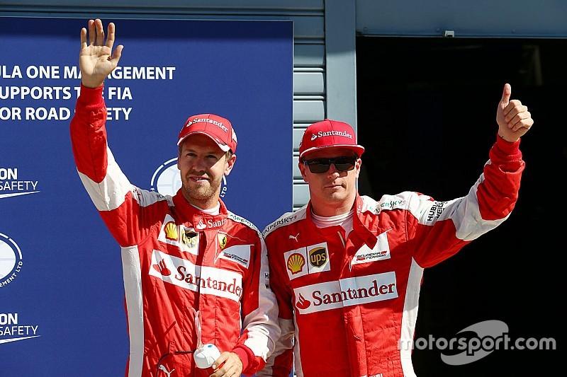 """Vettel: """"Speriamo di vedere due Ferrari sul podio"""""""