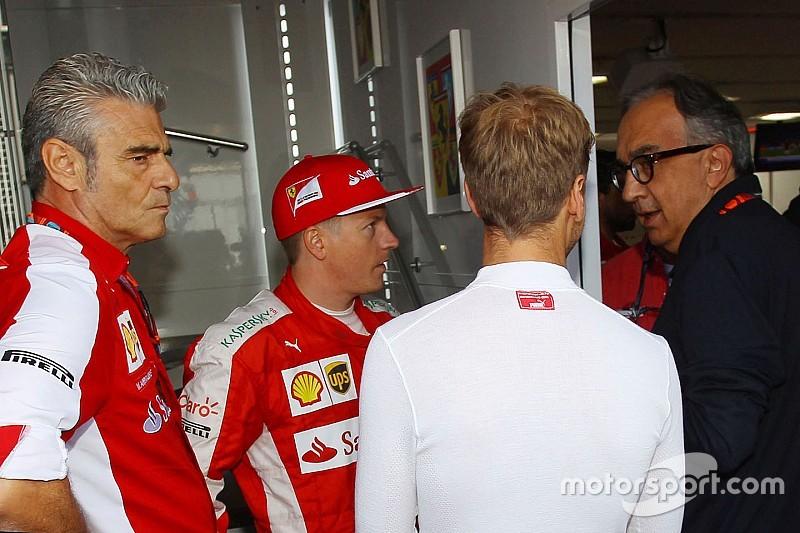 Marchionne incontra Horner e Marko nel motorhome