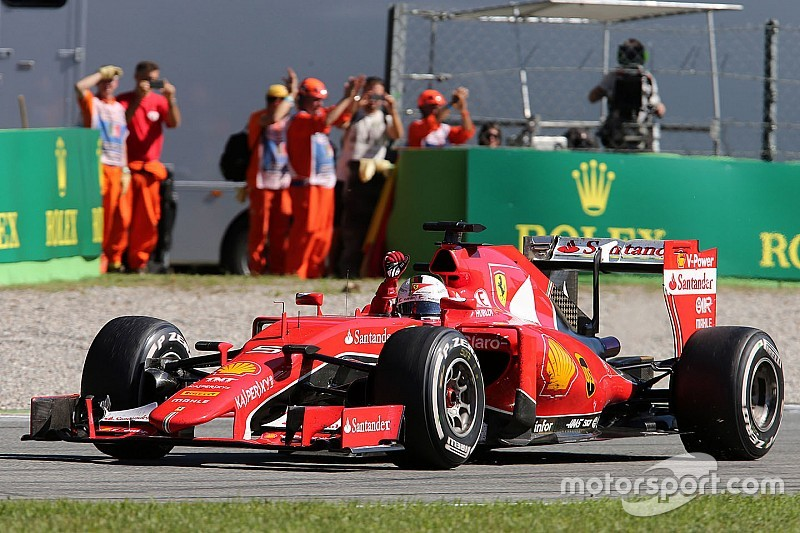 Apesar de distância para Mercedes, Ferrari segue positiva