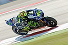 "Rossi has ""difficult"" day, admits he tested with new winglets"
