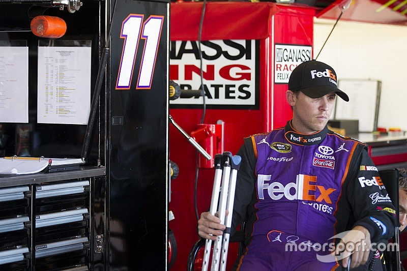 Hamlin doesn't feel injury will hurt on-track performance