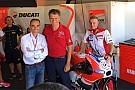 L'astronauta Paolo Nespoli ospite al box Ducati