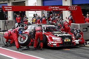 DTM Отчет о тренировке Пилоты Audi впереди на разминке в Ошерслебене