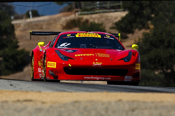 Ferrari first and second at Pirelli World Challenge finale