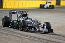 Singapore GP: Rosberg quickest in FP1 as Rossi crashes