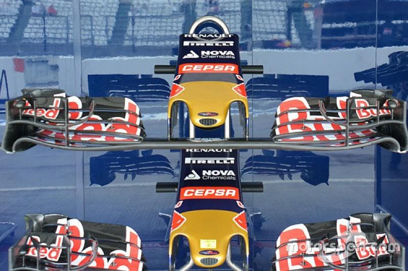 Toro Rosso: confermato l'upper flap ricurvo