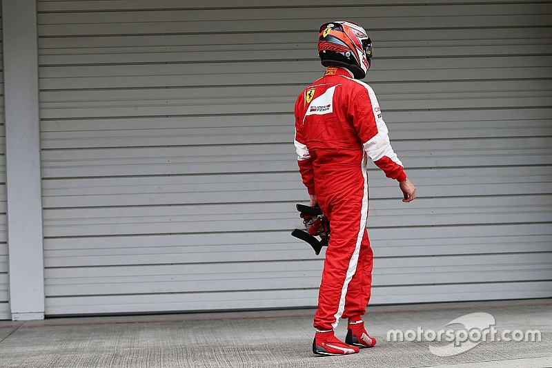 Räikkönen a de quoi être déçu à l'issue des qualifications