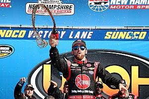 NASCAR Truck Reporte de la carrera Austin Dillon ganó la carrera de camionetas en New Hampshire