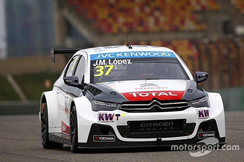 López vince Gara 1 a Shanghai, Citroën Campione