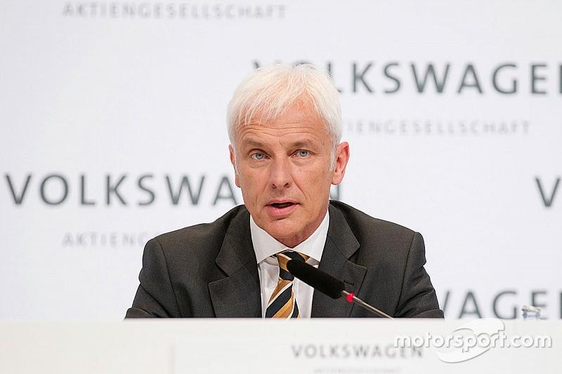 After the scandal: Is VW's new boss a motorsport fan?